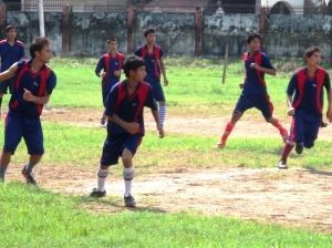 Ramana's Own Football Team