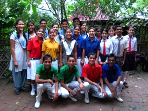 High School Students Attend Schools Outside of Ramana's Garden