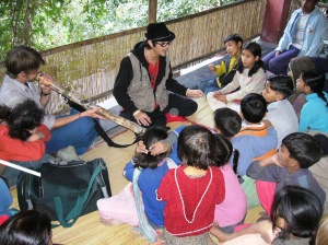 Learning the Didgeridoo